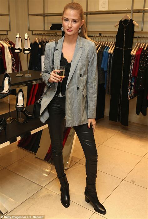 Millie Mackintosh looks effortlessly sexy at the L