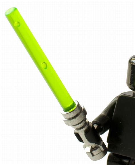 Lego Star Wars Lightsaber with Silver Hilt - Trans Neon