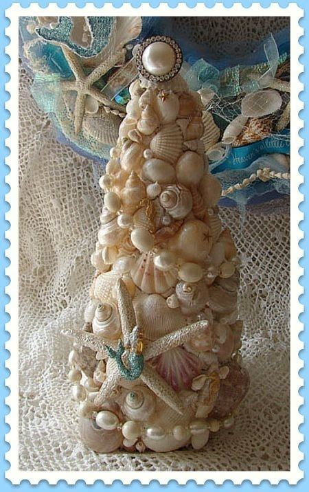 Mermaid Christmas Tree With Shells & Jelly Fish Pictures