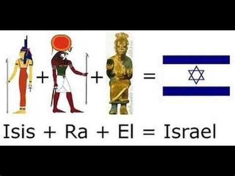 ISIS RA and EL Saturn Satan Open Your Eyes and Ears