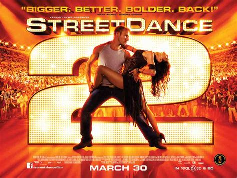 Brand New: Gallery Of StreetDance 2 3D Posters - Inside