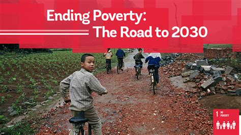 Ending Poverty: The Road to 2030 – UN