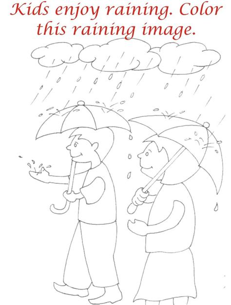 Seasons Scenes coloring printable pages for kids