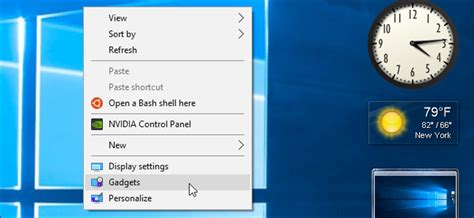 How to Add Gadgets Back to Windows 8 and 10 (and Why You