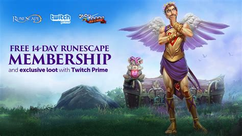 Twitch Prime Members, Get a 14-Day Membership to RuneScape