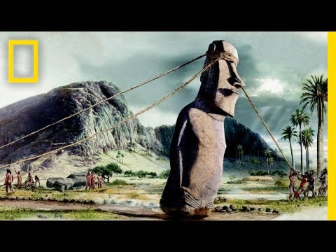 wordlessTech | Easter Island Moai have Bodies