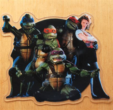 """Partners In Kryme - Turtle Power Shaped 7"""" Picture Disc"""