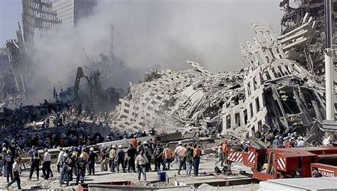 Firefighters who spent more time at World Trade Center