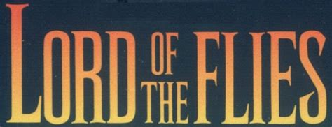 Lord of the Flies Exploration: Process