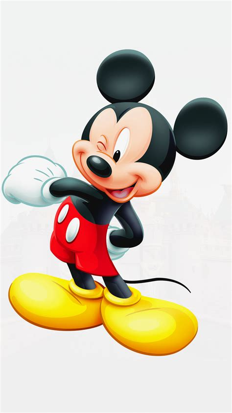 Free HD Mickey Mouse iPhone Wallpaper For Download