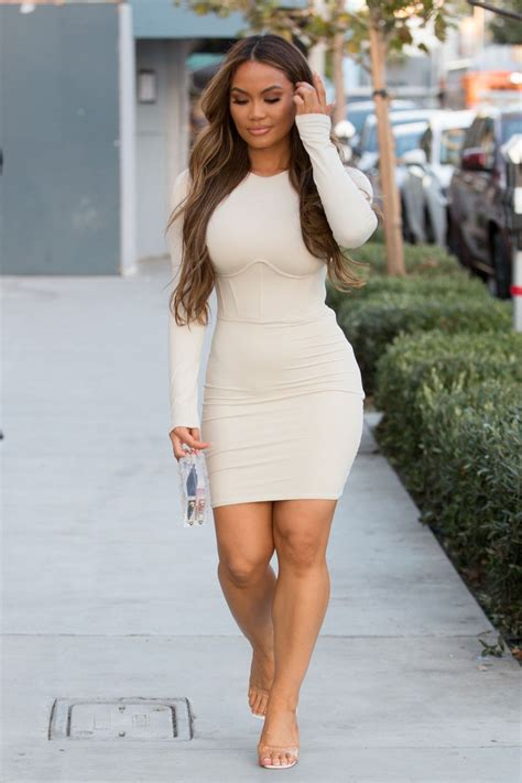 Daphne Joy - Sexy Tight Dress at PrettyLittleThing Event