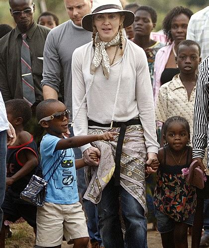 MADONNA SET TO TAKE HER ADOPTED CHILDREN TO MEET THEIR
