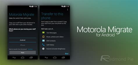 Motorola Migrate Lets You Transfer Your Content From
