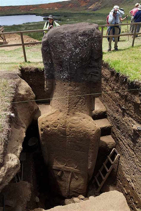 Scientists Found This Buried Beneath The Easter Island