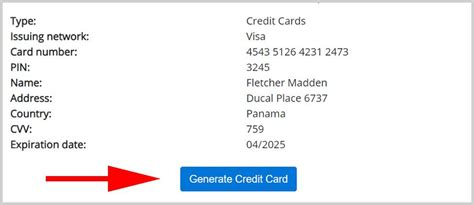 Fake Credit Card Number And Security Code For Netflix