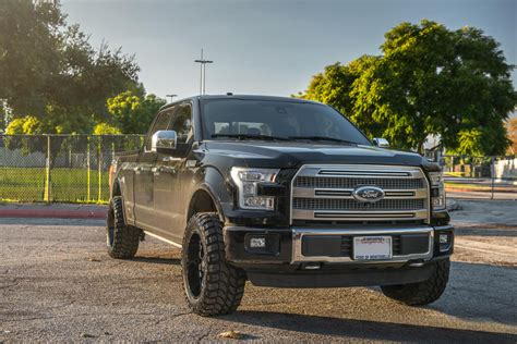 """2016 Ford F-150 20X10"""" Wheels + Tires + Suspension Package"""