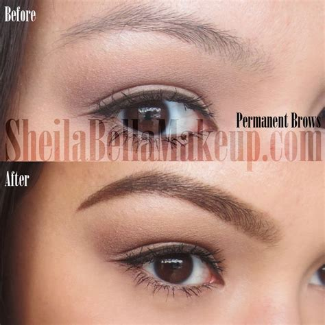 Powdered Look (Permanent Brows) | Permanent makeup