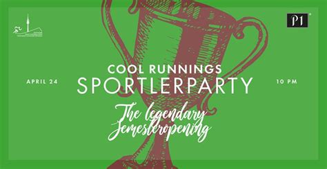 Party - Cool Runnings Sportlerparty - The legendary