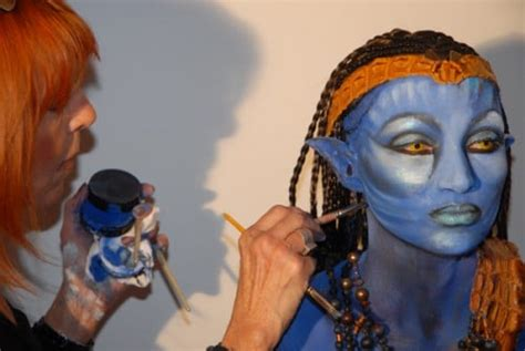 Un maquillage avatar pour make up for ever