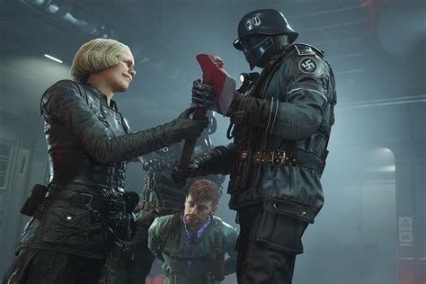 Wolfenstein 2: The New Colossus starts off with BJ