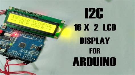 How to connect I2C 16X2 LCD Display for Arduino - YouTube