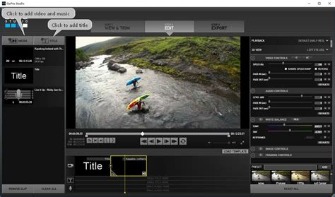 Top 8 GoPro Video Editors for Beginners and Pro [with Video]