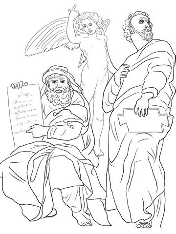 The Prophets Hosea and Jonah coloring page | Free