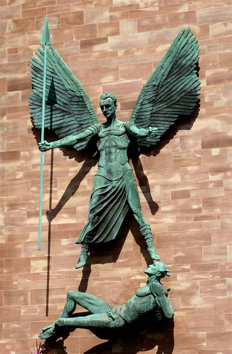 St Michael, Coventry Cathedral | St Michael the Archangel