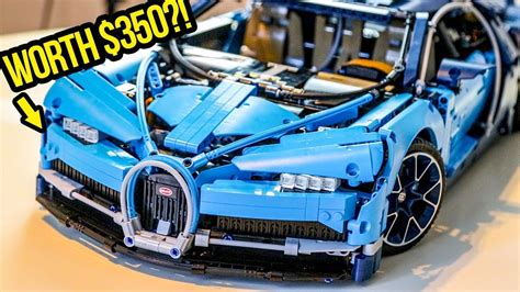 Here's Why The LEGO Bugatti Chiron Is Worth $350 - YouTube