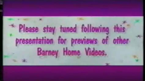 Barney Home Video - Please Stay Tuned Screen - B - YouTube