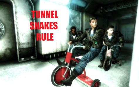 Tunnel Snake - Fallout Minecraft Skin