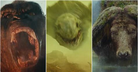 Meet All The Creatures From The Upcoming 'Kong: Skull