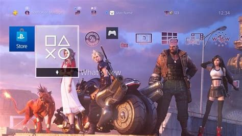 Final Fantasy VII Remake PS4 Theme From the Demo Shows a