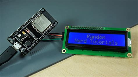 I2C LCD with ESP32 on Arduino IDE - ESP8266 compatible