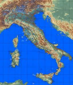 Country maps Italy