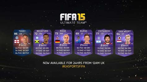 Purple IF Cards - All the FIFA 15 Ultimate Team Heroes