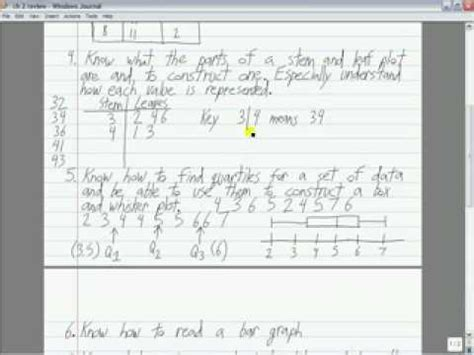 Calculate the Mean, Median, Mode and construct a line plot