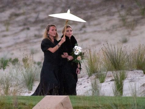 Mary-Kate and Ashley Olsen Were Bridesmaids in Their