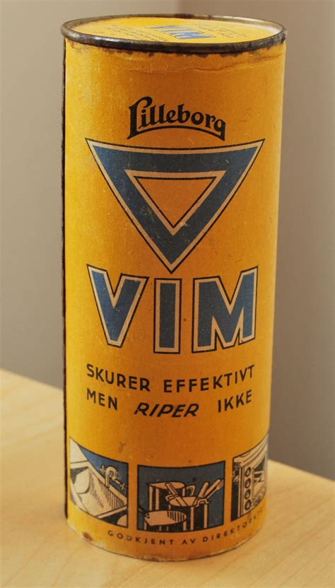 Vim (cleaning product) - Wikipedia