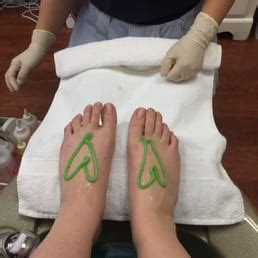 The best pedicure in town! Even the scrub is adorable