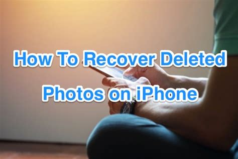 [iPhone Photo Recovery] Best Free iPhone Photo Recovery