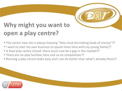 LIW 2012- Researching the Indoor Play Market (PAR Seminar)