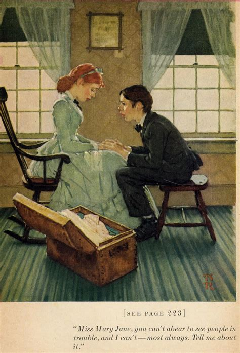 Today's Inspiration: NORMAN ROCKWELL'S ILLUSTRATIONS FOR