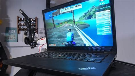 Zwift & Tacx launch ability to shake your trainer riding