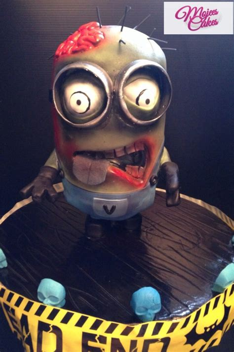 Our Walking Dead Minion - CakeCentral