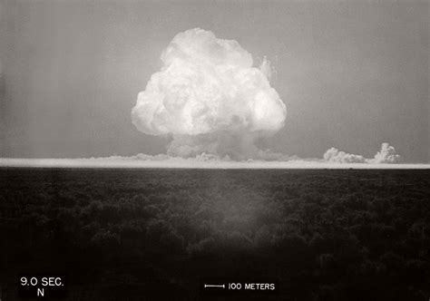 Vintage: First Atomic Bomb Tested (July 16, 1945