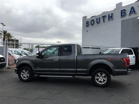 Pre-owned 2016 Ford F-150 4WD SuperCab 145 Lariat For Sale