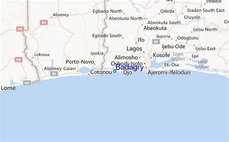 Badagry Tide Station Location Guide