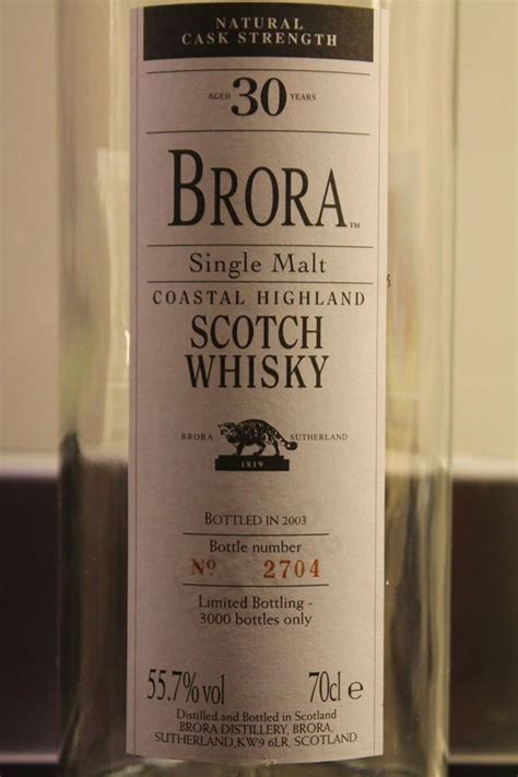 Brora 30 YO (2nd release)   Tjeders whisky