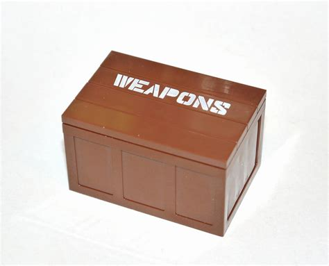 öLego Weapon-crate (BIG) with text: Weapons - Furniture